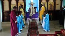 Η εορτή του Ευαγγελισμού στον Ι.Ν.Αγ.Φωτεινής Pointe - Noire