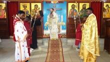 Αρχιερατική θεία Λειτουργία στον Ι. Ναό Αγίας Ειρήνης Dolisie