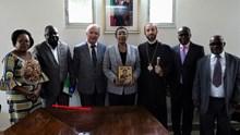 Συνάντηση του Μητροπολίτη Μπραζαβίλ με την νέα Υπουργό Κοινωνικών Υποθέσεων