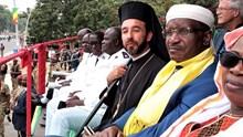 Ο Μητροπολίτης Μπραζαβίλ  κ. Παντελεήμων στην εθνική επέτειο του Κονγκό