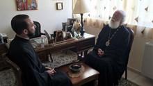 Συνάντηση του επισκόπου Μπραζαβίλ με τον Πατριάρχη Αλεξανδρείας