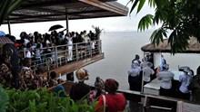 Η κατάδυση του Τιμίου Σταυρού στις όχθες του ποταμού Κονγκό