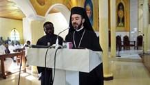 Tελετή παράδοσης της προεδρίας του Εθνικού Συμβουλίου Χριστιανικών Εκκλησιών