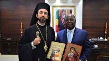 Επίσημη συνάντηση με τον πρωθυπουργό του Κονγκό