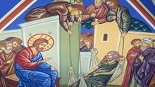 Η υπό του Ιησού θεραπεία του παραλύτου στην Καπερναούμ (Ματθ. 9,1-8)