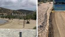 Ακτοκαθαρισμός στην παραλία του Γαλησσά
