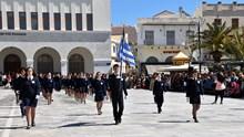 Η μαθητιώσα νεολαία τίμησε την 25η Μαρτίου