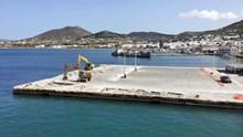 Ξεκίνησαν οι εργασίες στο λιμάνι της Πάρου