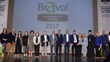 Το βραβείο Bravo Sustainability Award 2017 στην Περιφέρεια Ν. Αιγαίου