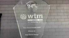 Το βραβείο του καλύτερου περιπτέρου της WTM 2018, κέρδισε η Περιφέρεια Ν. Αιγαίου