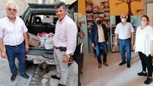Προσφορά τροφίμων στη Στέγη Ανηλίκων Σύρου