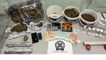 Σαντορίνη: Σύλληψη για διακίνηση κοκαΐνης και κάνναβης