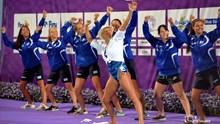 """Φαντασμαγορικό και το Gala στο τέλος του """"Hellas Beetles FINA Artistic Swimming World Series, Syros 2018?"""