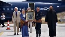 Η εικόνα της Παναγίας Σουμελά στη Σύρο