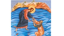 Ο Ιησούς περιπατών επί της θαλάσσης - Η εμπιστοσύνη προς το Θεό σώζει τον άνθρωπο (Ματθαίου 14,22-34)