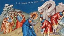 Η θεραπεία του εκ γενετής τυφλού (Ιωάννου, κεφ. 9, 1-38)