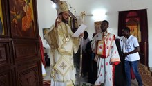 H Κυριακή των Βαΐων στον Ιερό Ενοριακό Ναό Αγίας Ειρήνης πόλεως Dolisie