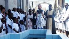 Βαπτίσεις στο Pointe-Noire και Μπραζαβίλ