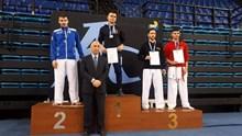 Πρωταθλητής Ελλάδας στο καράτε, ο Βασίλης Βρούτσης