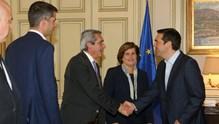 Ο Γιώργος Χατζημάρκος στη συνάντηση των Περιφερειαρχών με τον Πρωθυπουργό