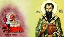 Ο αληθινός Μέγας Βασίλειος και ο εμπορευματοποιημένος Santa Claus