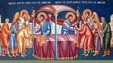 Ο άνωθεν ερχόμενος ζωντανός Άρτος της Ζωής (ο Χριστός) και ο χορτασμός των πέντε χιλιάδων