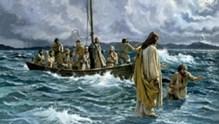 Ο ΠΕΡΙΠΑΤΩΝ ΕΠΙ ΤΩΝ ΥΔΑΤΩΝ (Ματθαίου 14, 22-34)