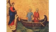 Ο ΧΡΙΣΤΟΣ ΚΑΛΕΙ ΤΟΥΣ ΠΡΩΤΟΥΣ ΜΑΘΗΤΕΣ ΤΟΥ (Λουκ. 5,1-11)