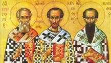 ΟΙ ΤΡΕΙΣ ΙΕΡΑΡΧΕΣ: Απαράμιλλα και πάμφωτα παραδείγματα θεολογικής και κοινωνικής ζωής