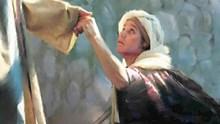 Ο Ιησούς θεραπεύει μια συγκύπτουσα γυναίκα ένα Σάββατο (Λουκ. 13,10-17)