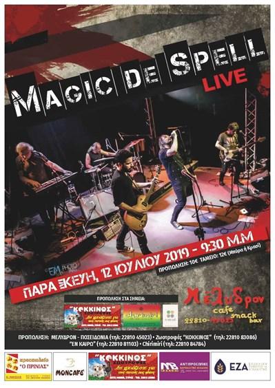 Magic de spell LIVE