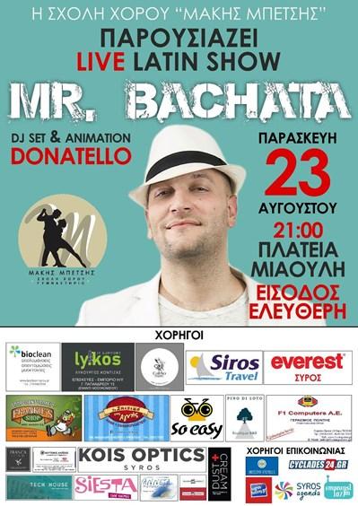 Live Latin Show - Mr Bachata