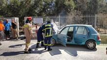 Φωτιά σε όχημα στον Αξό