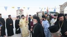Η Σύρος υποδέχθηκε την ιερά εικόνα της Παναγίας Ζωοδόχου Πηγής Σουμελά