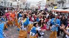 Συριανό Καρναβάλι 2017 - Παραλία