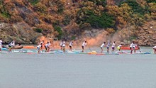 Syros On SUP - The Race