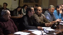 Συνεδρίαση Δημοτικού Συμβουλίου - Δρομείς Σύρου