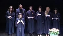 Τελετή Καθομολόγησης των Αποφοίτων του Τμήματος Μ.Σ.Π.Σ 2017
