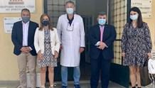 H Υφυπουργός Ψυχικής Υγείας κ. Ζωή Ράπτη στο Νοσοκομείο Σύρου