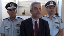 Ο Γ.Γ. του Υπουργείου Δημόσιας Τάξης στη Σύρο