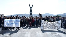 Πορεία των μαθητών των Λυκείων ΓΕΛ και ΕΠΑΛ