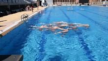 Προπόνηση Εθνικής Ομάδας Συγχρονισμένης Κολύμβησης Ουγγαρίας