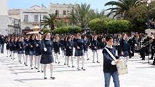 Μαθητική παρέλαση στην Ερμούπολη 2016