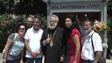 Εγκαίνια του εκκλησιαστικού περιπτέρου Ιεράς Μητρόπολης Σύρου