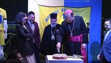 Κοπή πρωτοχρονιάτικης πίτας Α.Ο. Σύρου