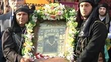 Η Θαυματουργή εικόνα της Παναγίας Σουμελά στην Σύρο