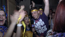 Nightlife στην Ερμούπολη την τελευταία Κυριακή της Αποκριάς 2013